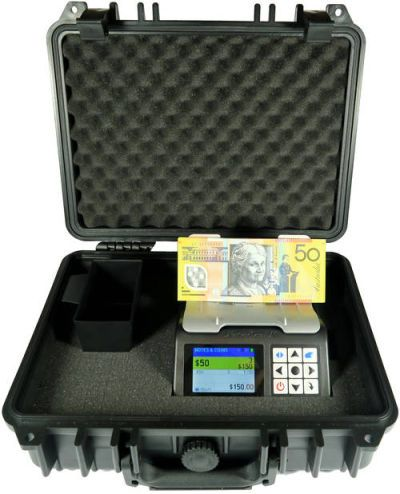 Money counter - Case open